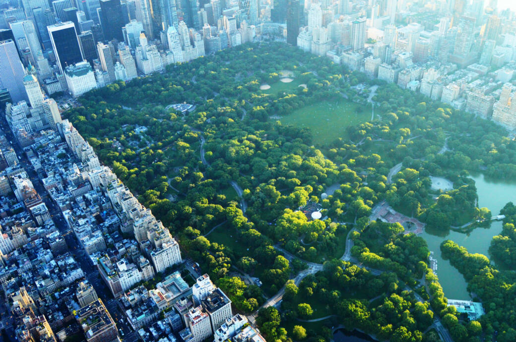 Manhattans Central Park in New York