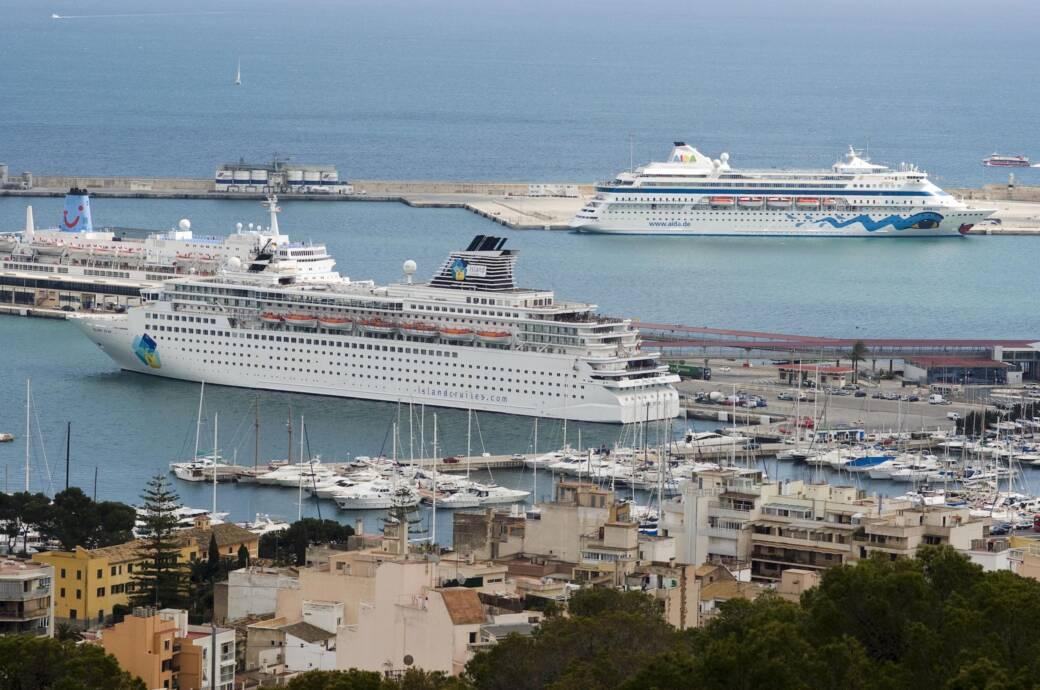 Auch 2020: Massenansturm von Kreuzfahrtschiffen auf Mallorca