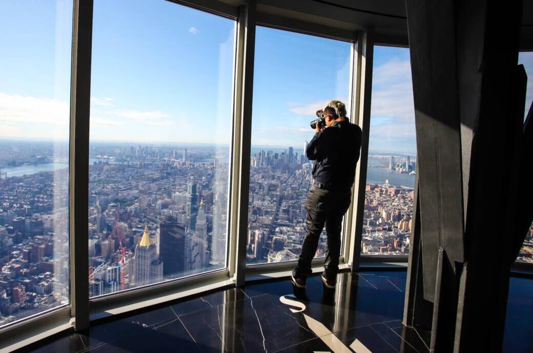 Das Empire State Building hat jetzt zwei Aussichtsplattformen