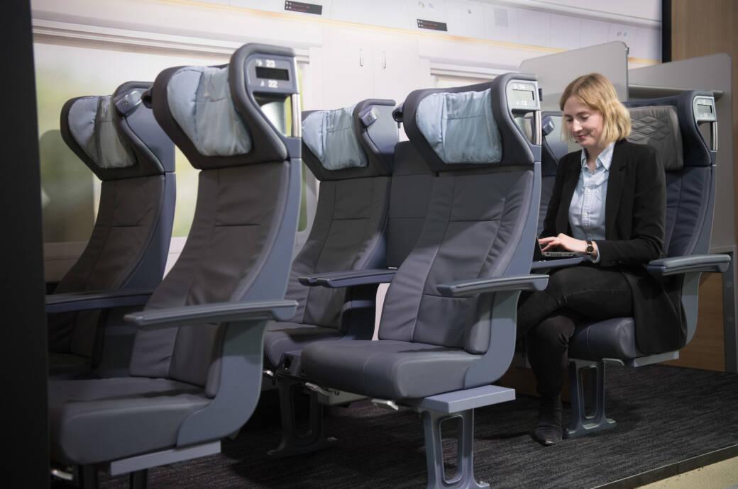 Neuere ICE-Züge sollen bequemere Sitze bekommen