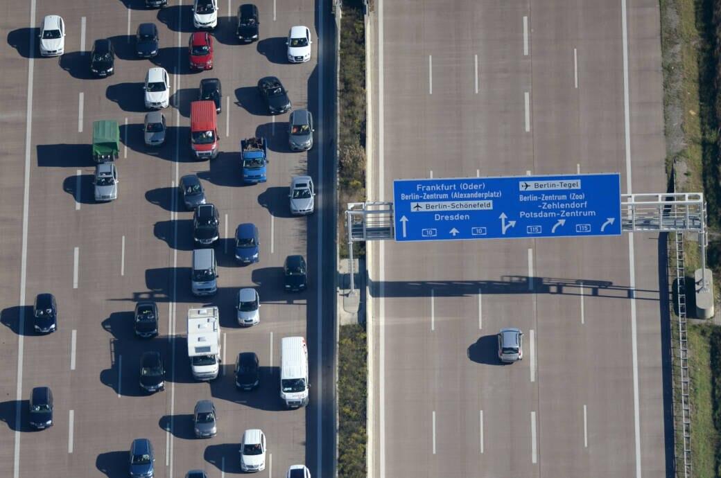 Herbstferien sorgen für Staus auf den Autobahnen