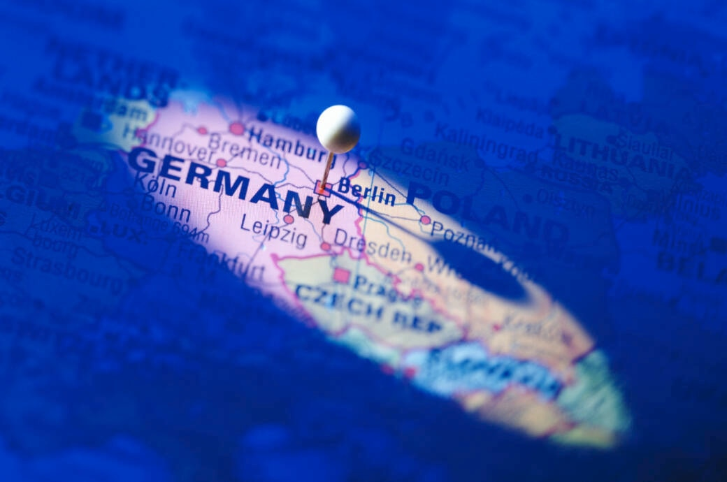 Welche deutschen Städte sind hier markiert?