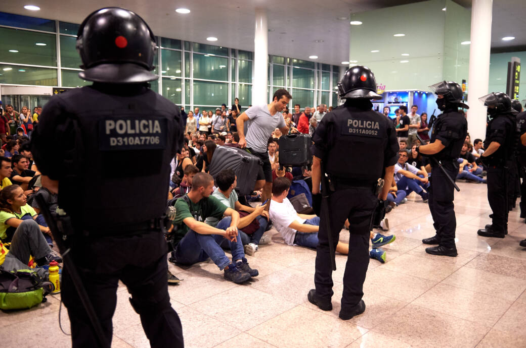 Proteste in Barcelona – Flugausfälle!