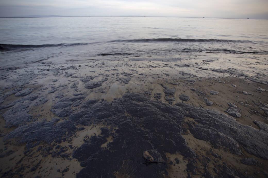 Ölteppich im Ozean