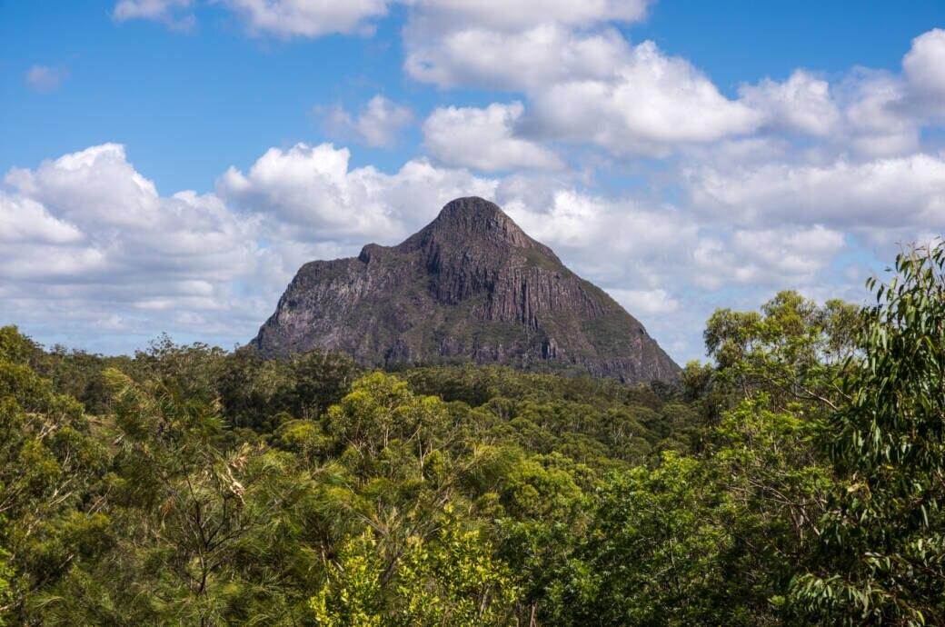 Mount Beerwah in Australien
