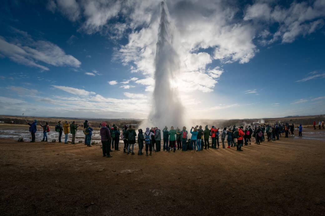 Island Was Die Explosierenden Touristenzahlen Bedeuten