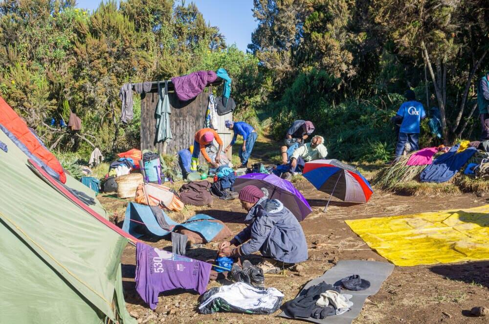 Kilimandscharo Aufstieg