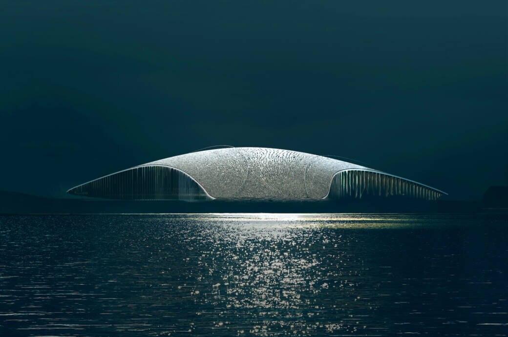 """""""The Whale"""" – spektakuläres Bauwerk in Norwegen geplant"""