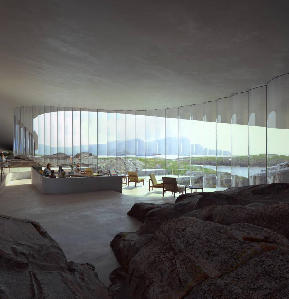 The Whale Gebäude in Norwegen
