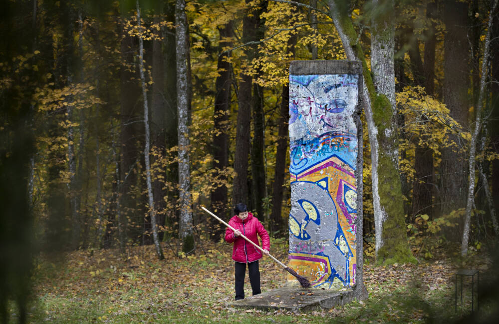 Berliner Mauer in Litauen
