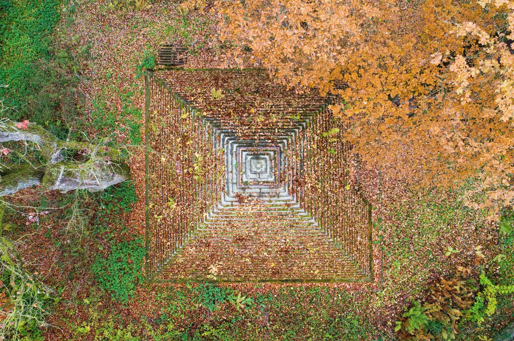 Warum mitten in Deutschland eine Pyramide steht