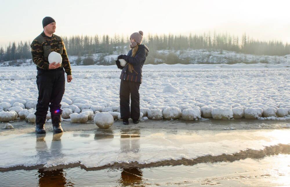 Eiseier in Russland