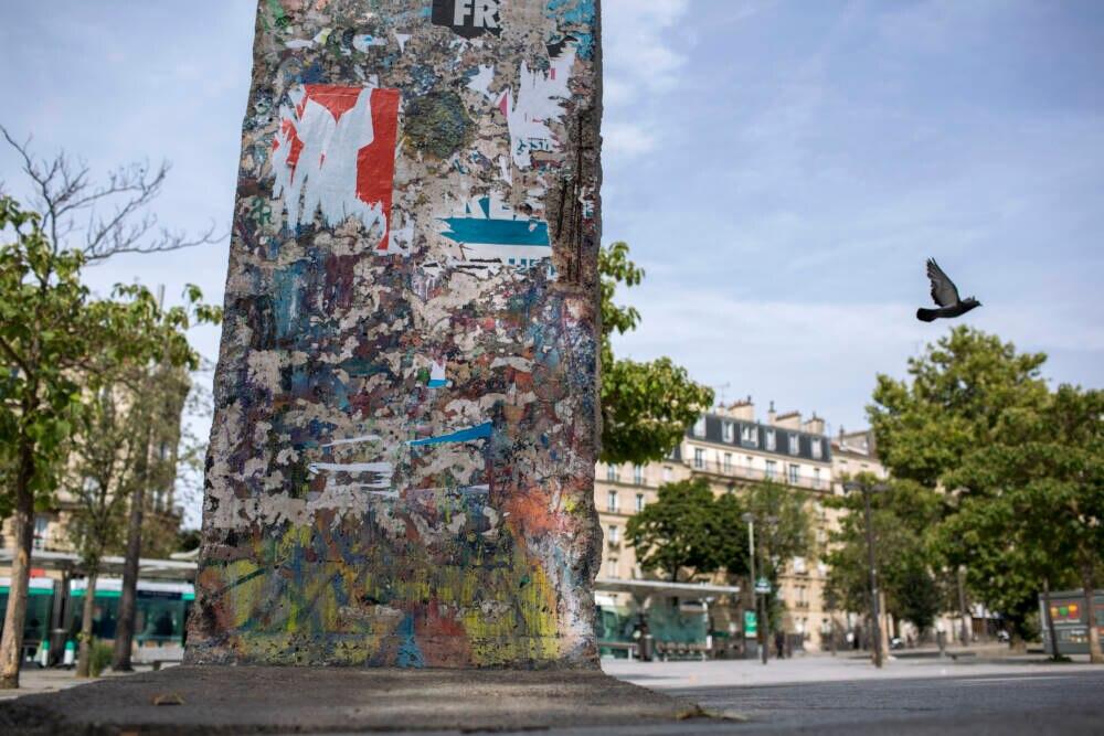 Berliner Mauer in Paris