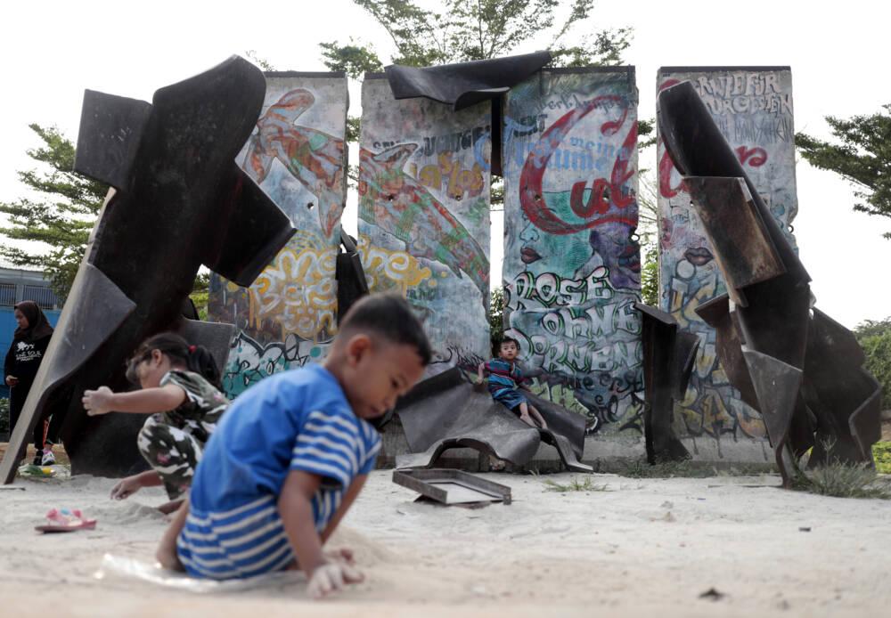 Berliner Mauer in Jakarta