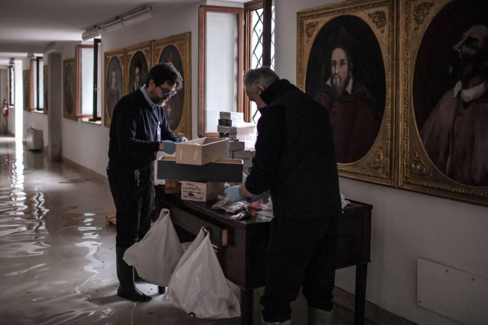 Italien: Neues Hochwasser droht Venedig - Unwetter in ganz Italien