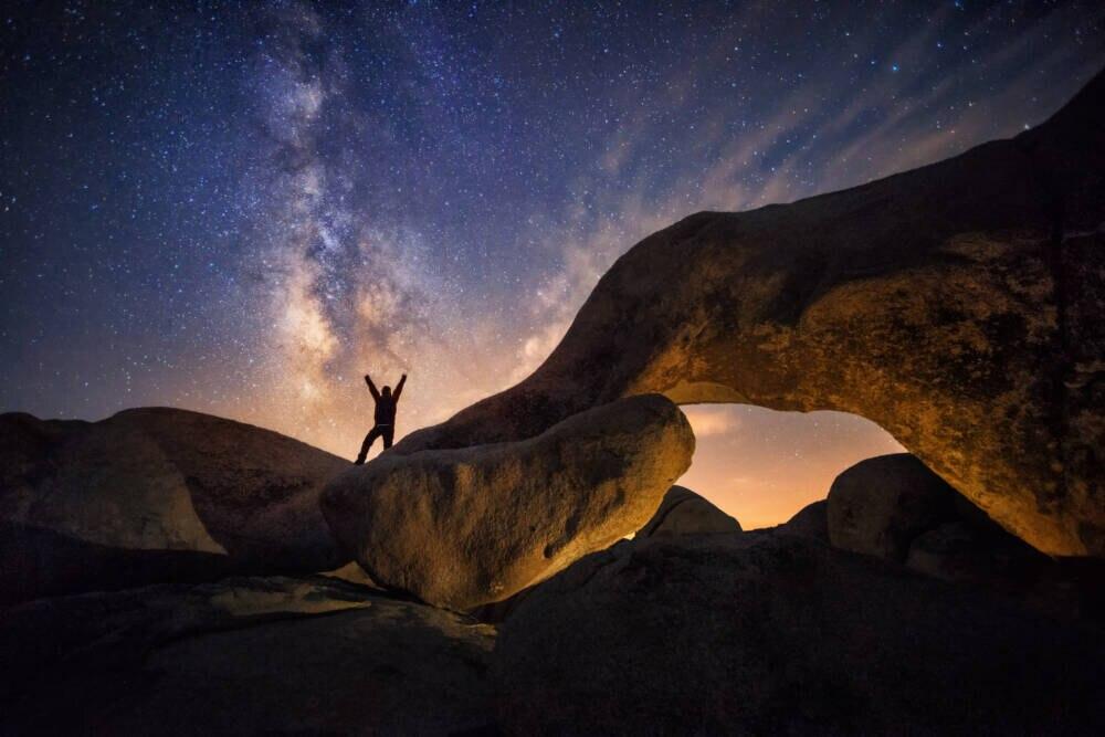 Der Sternenhimmel über dem Joshua Tree Nationalpark