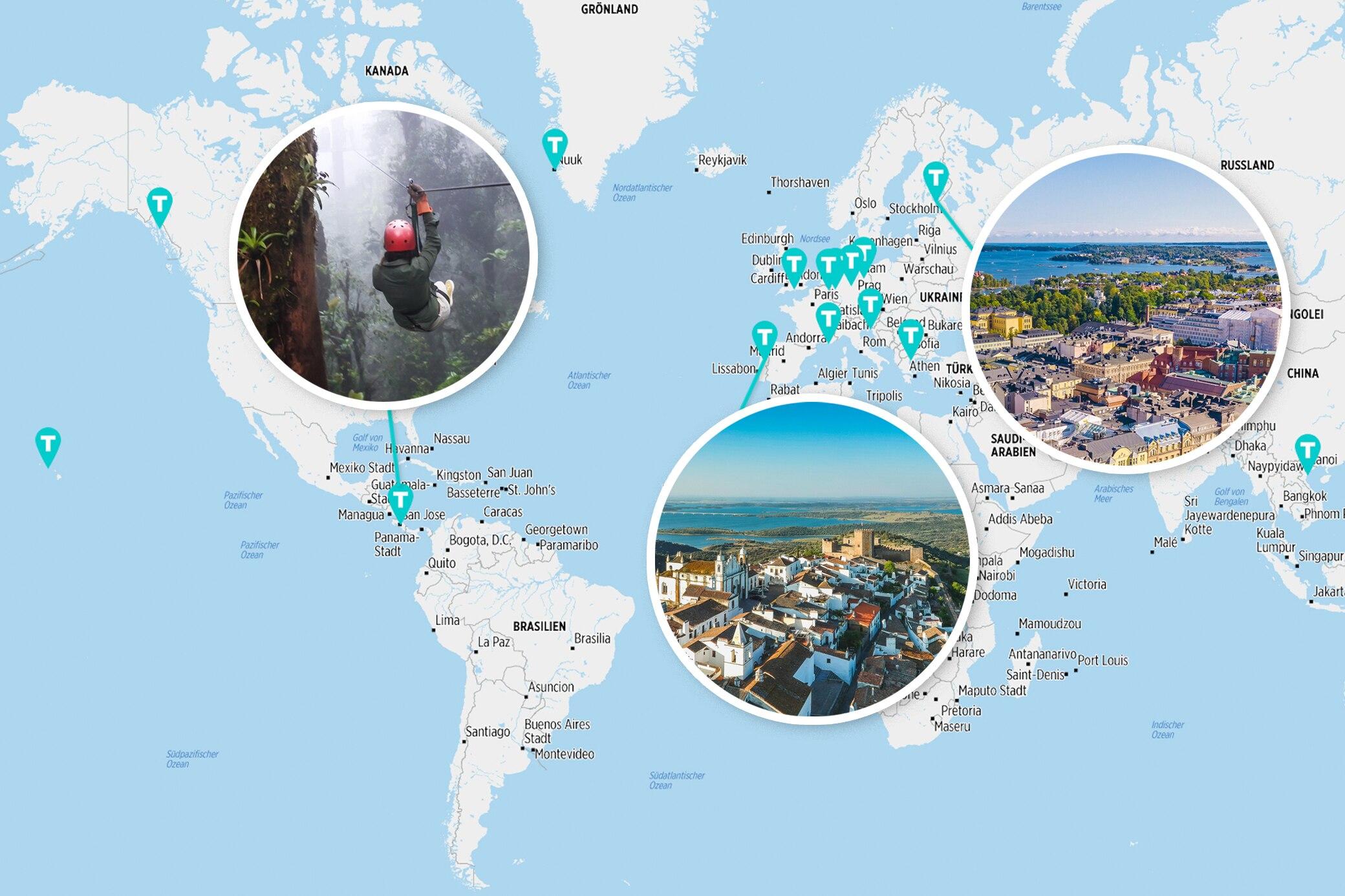 Diese 17 Reiseziele sollten Sie 2020 nicht verpassen!