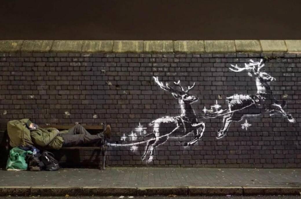Banksy-Kunstwerk