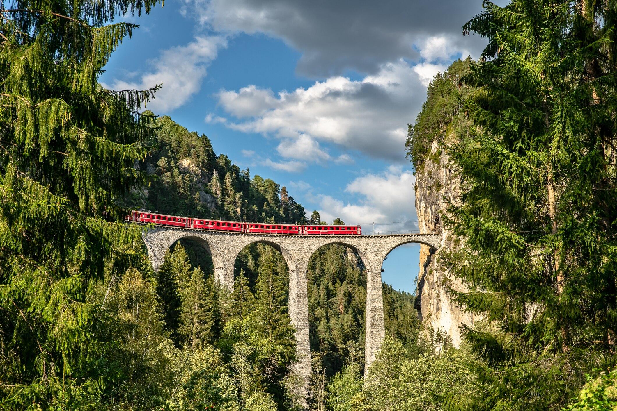 Die 9 besten Zugstrecken durch Europa