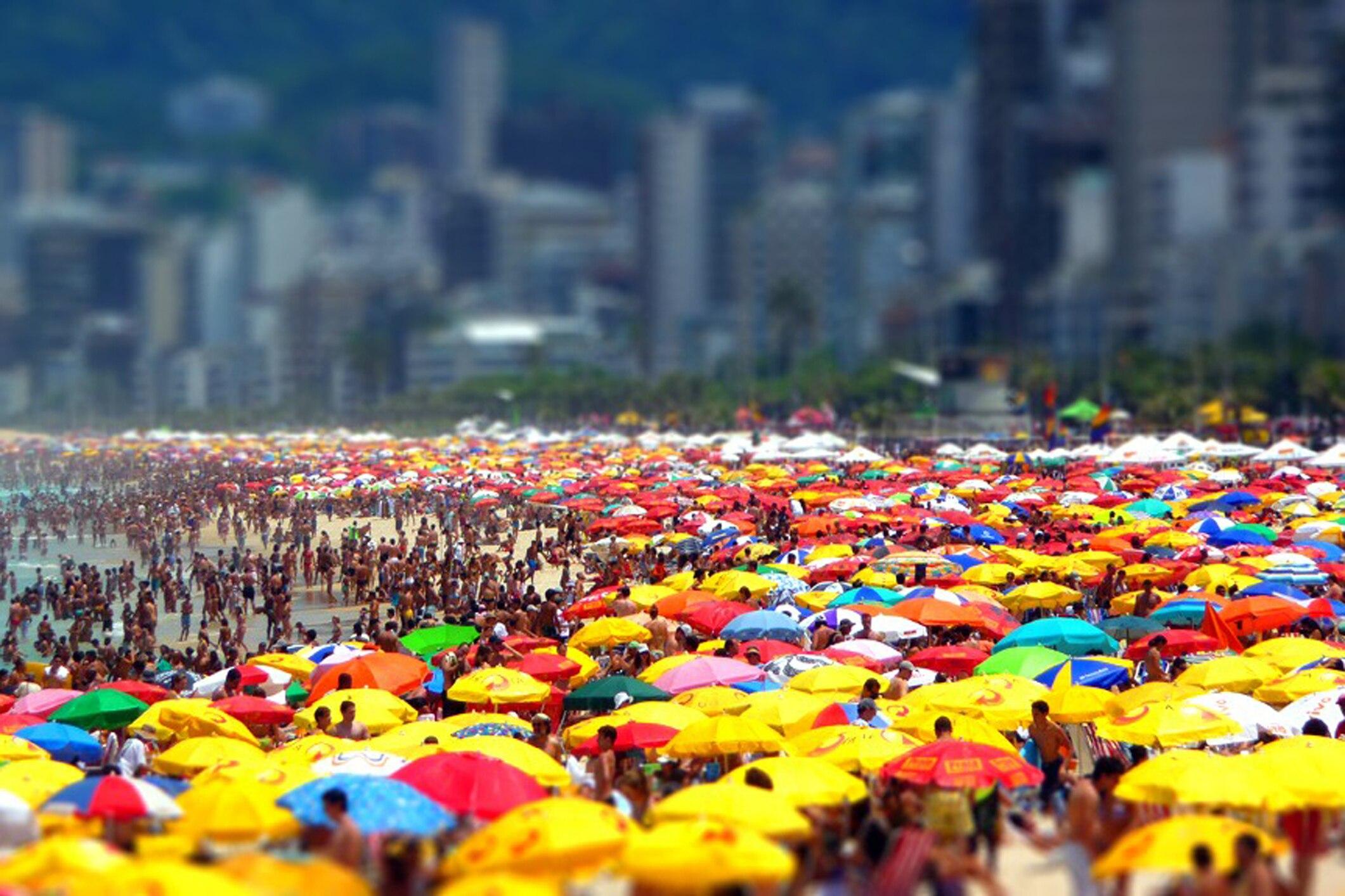 In diesen Städten gibt es die meisten Touristen pro Einwohner