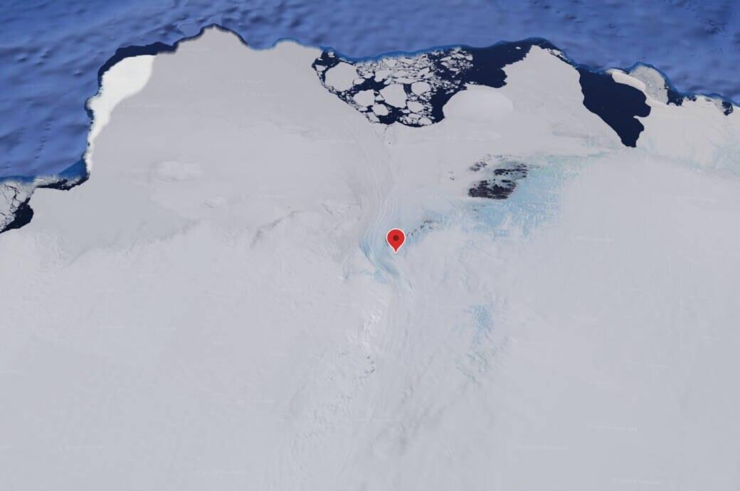 Hier liegt der neue tiefste Punkt der Welt, der nicht unter Wasser ist