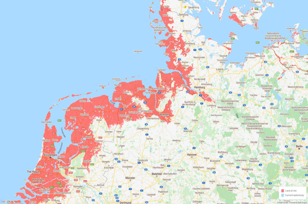 Klimawandel Weltkarte Zeigt Orte Die Verschwinden Konnten