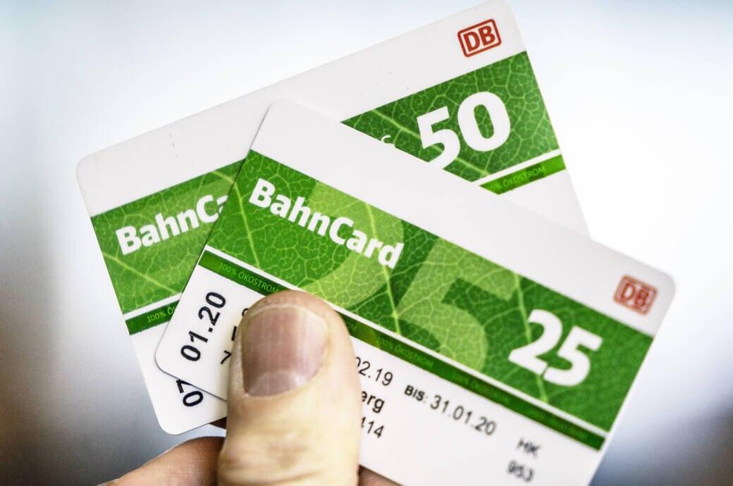 Bahncard 50 und 25