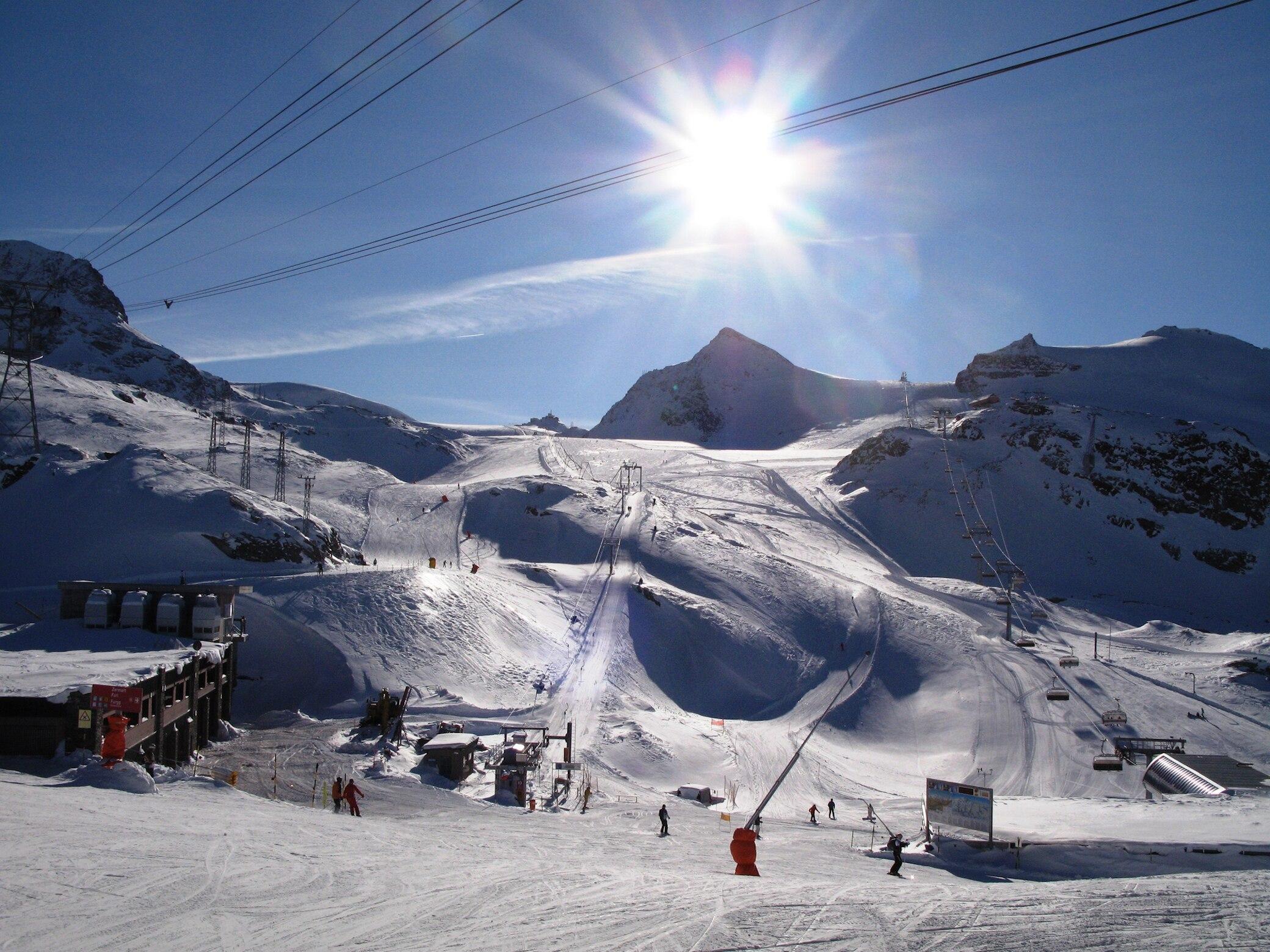 Skigebiete am Matterhorn