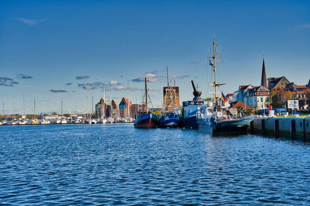 Der Hafen von Rostock
