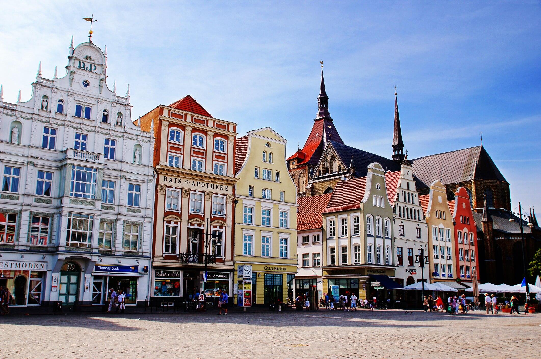 So schön kann Rostock sein!
