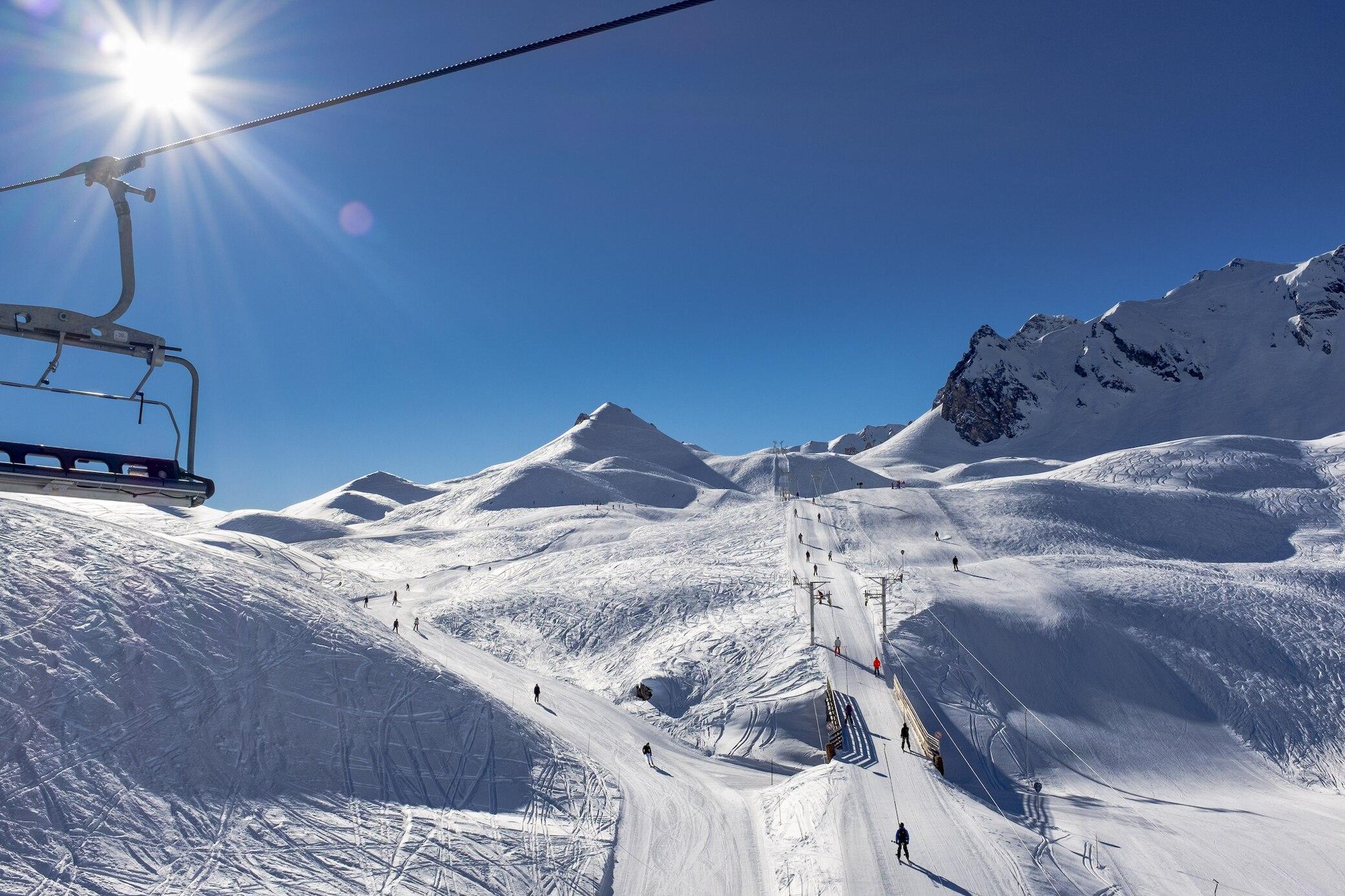 Die 11 besten Skigebiete in Europa