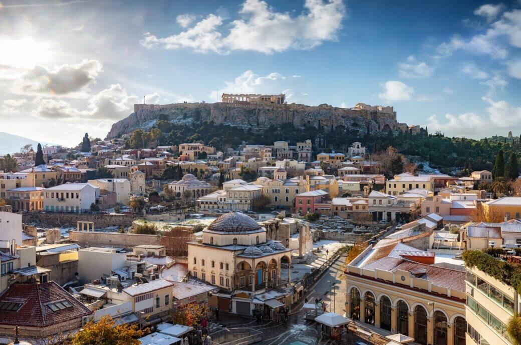 Griechenland im Winter