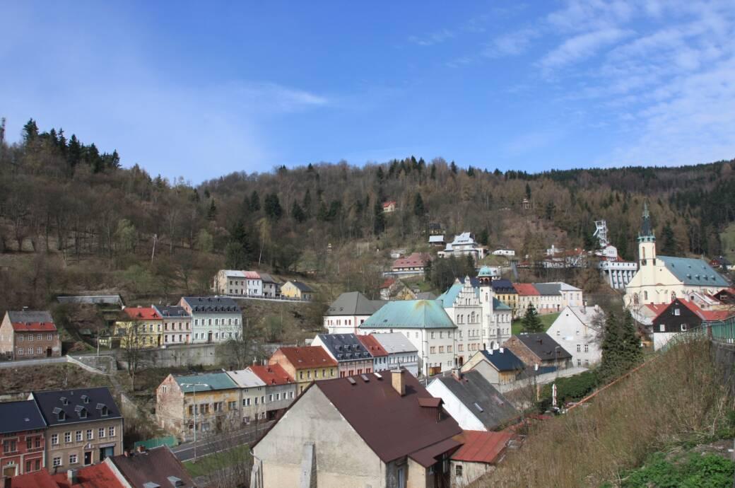 Stadtbild Jáchymov