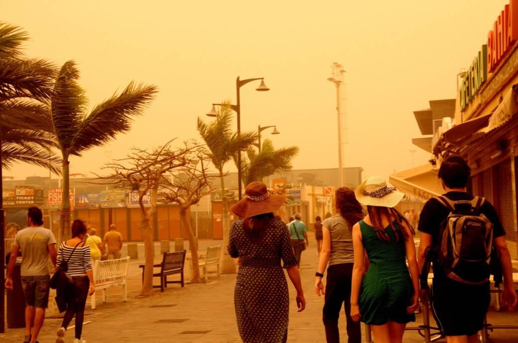 Flughäfen auf den Kanaren nehmen Betrieb nach Sandsturm wieder auf