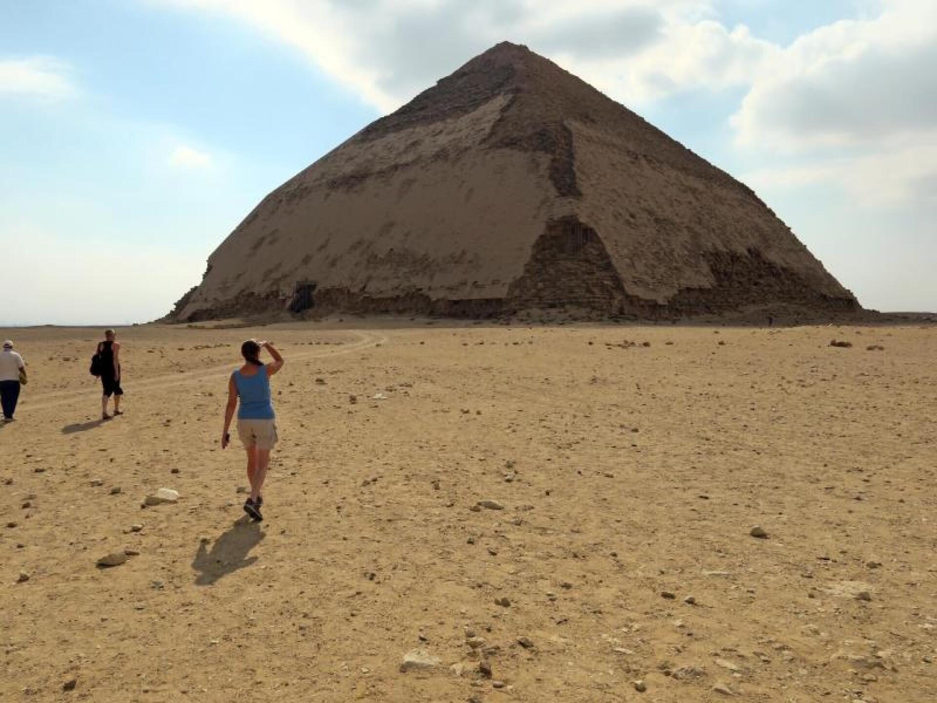 Knickpyramide von Pharao Snofru