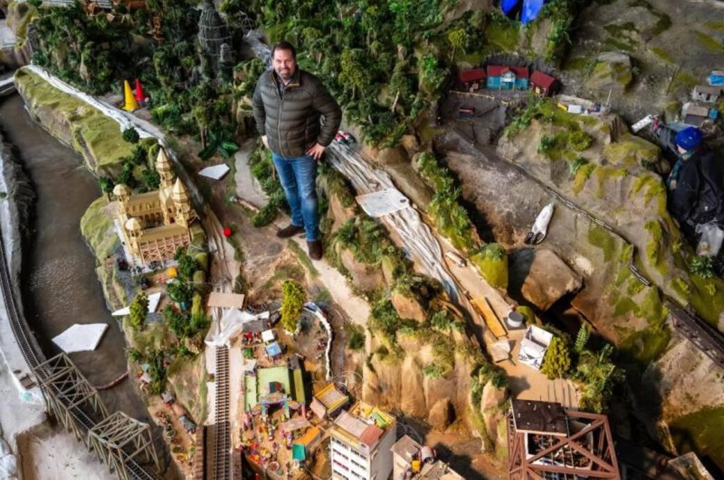 Modelleisenbahnanlage in Bispingen