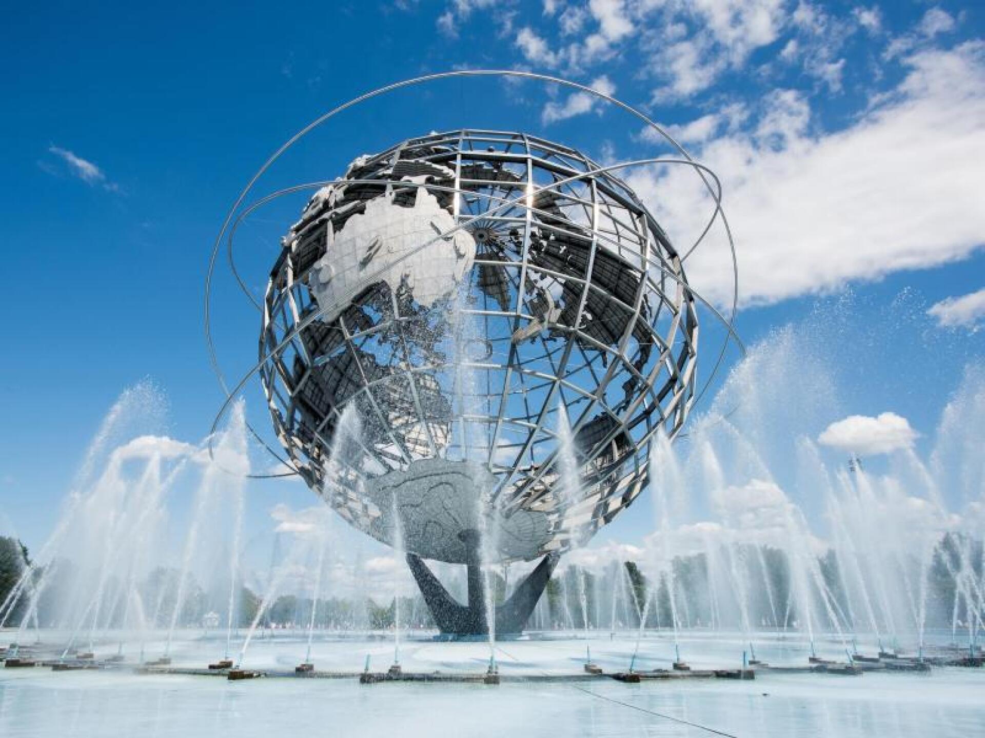 Stahl-Globus Unisphere