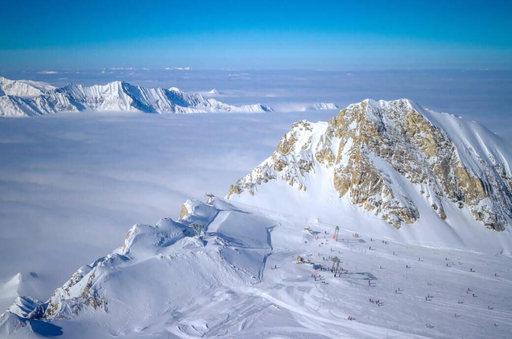 Österreich Skigebiet