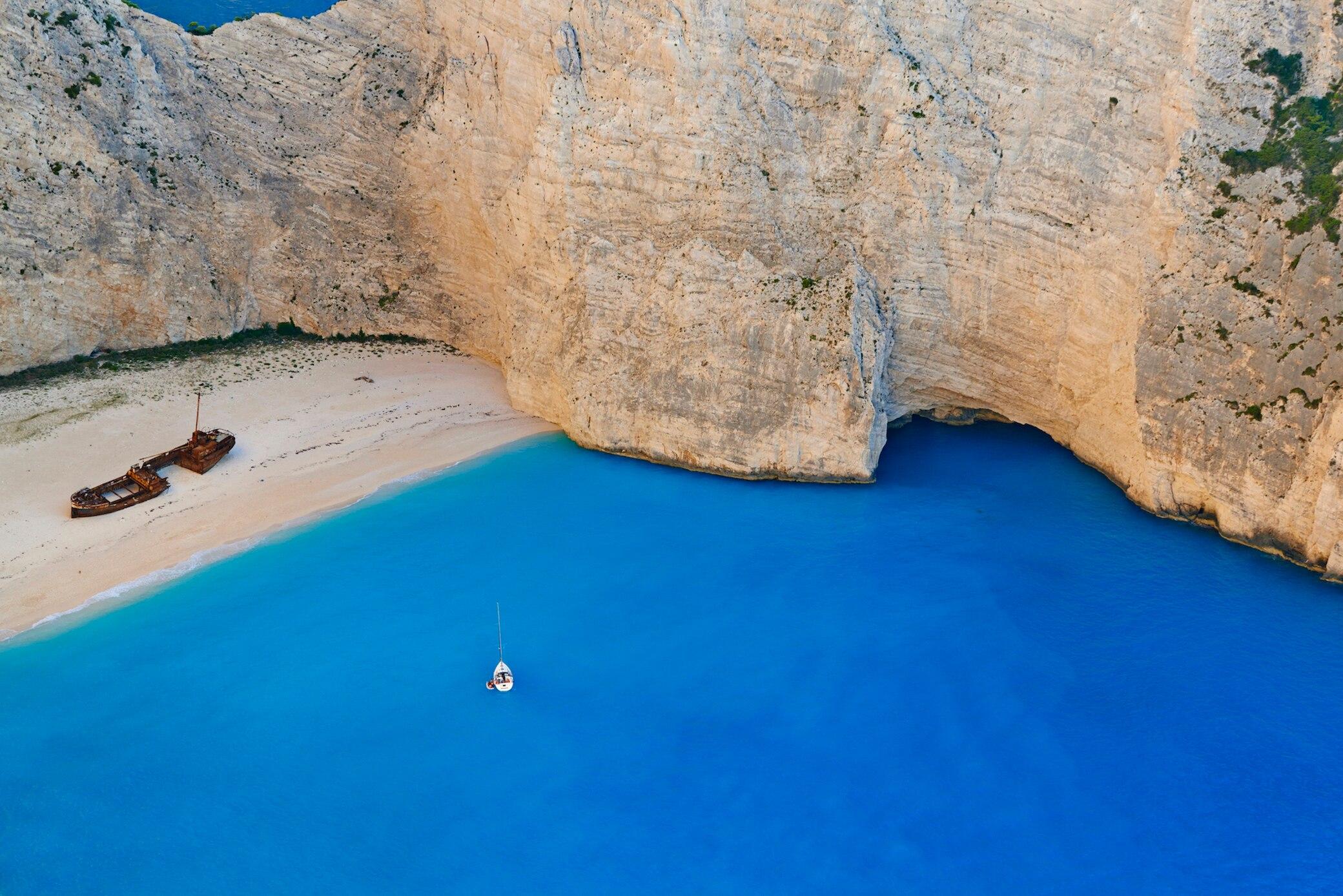 Wrack, Griechenland