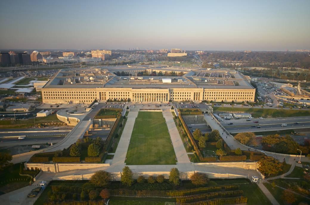 Das Pentagon in den USA