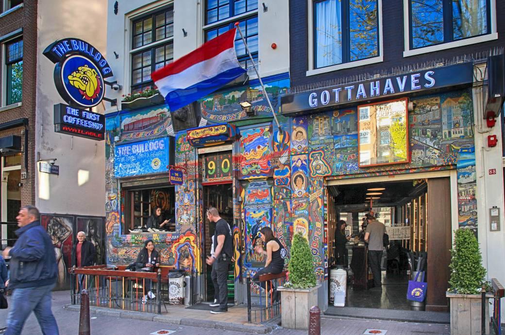 Amsterdam Cannabiskonsum Touristen
