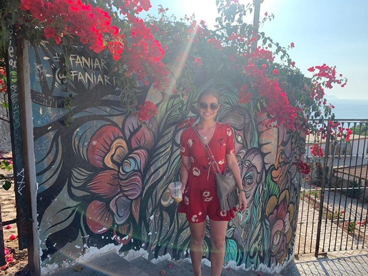 Annabelle in Lima, Peru. Eigentlich wollte sie das Land noch weiter bereisen, doch dann kam alles anders