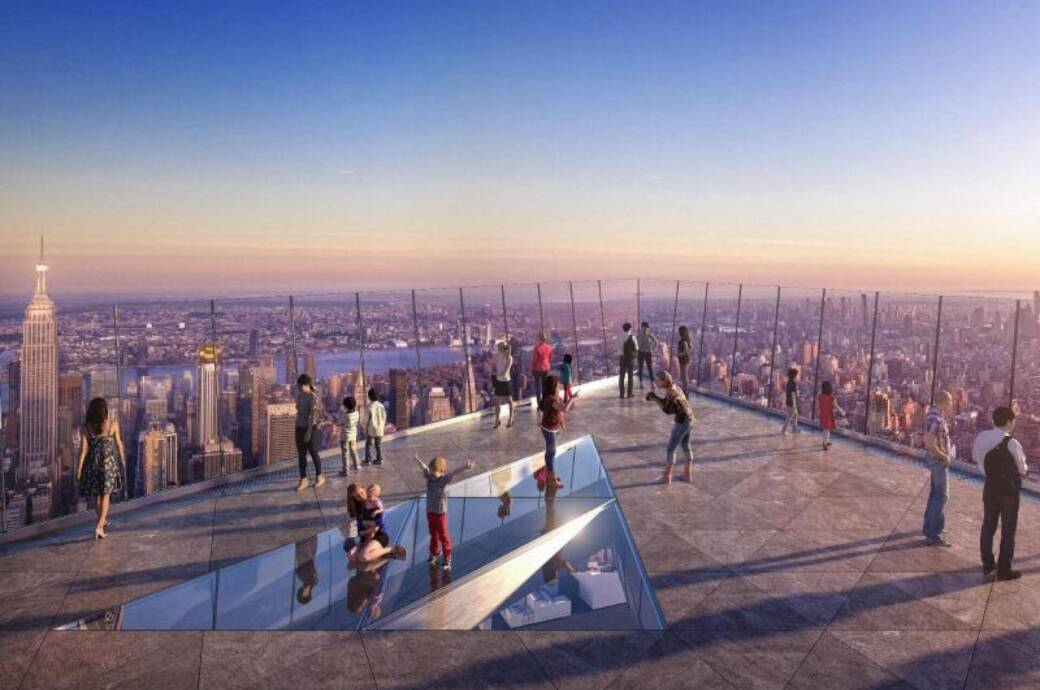 Aussichtsplattform «The Edge» in New York