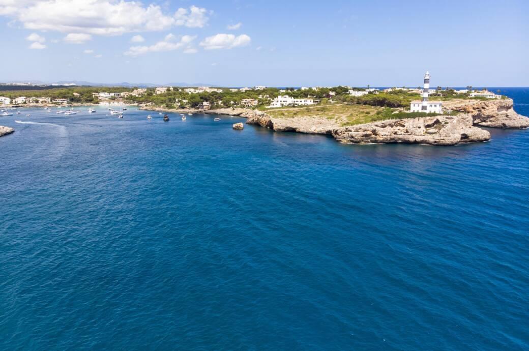 Die Bucht von Portocolom auf Mallorca
