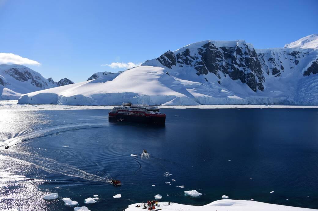 Wie gefährdet ist die Antarktis?