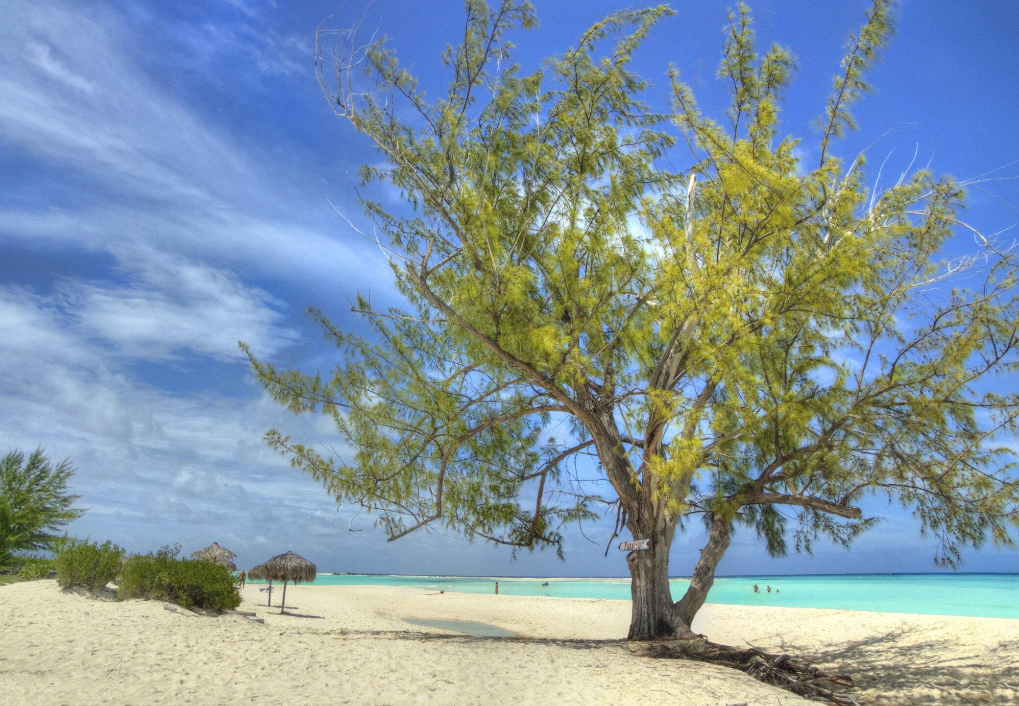 Paraiso beach,, Kuba