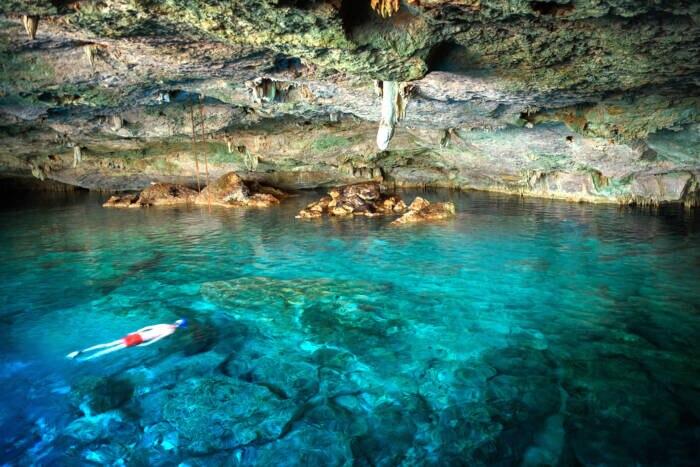 Cenote Dos Ojos, Mexiko