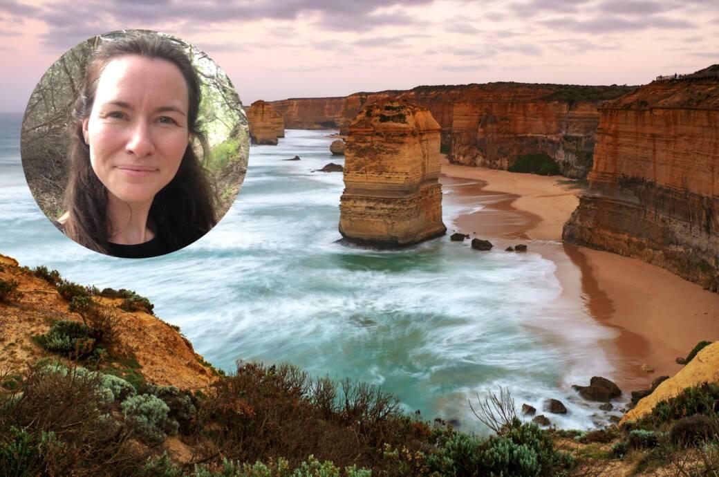 TRAVELBOOK-Redakteurin Anna Wengel sitzt in Australien fest – hier sind die Twelve Apostel an der Great Ocean Road zu sehen