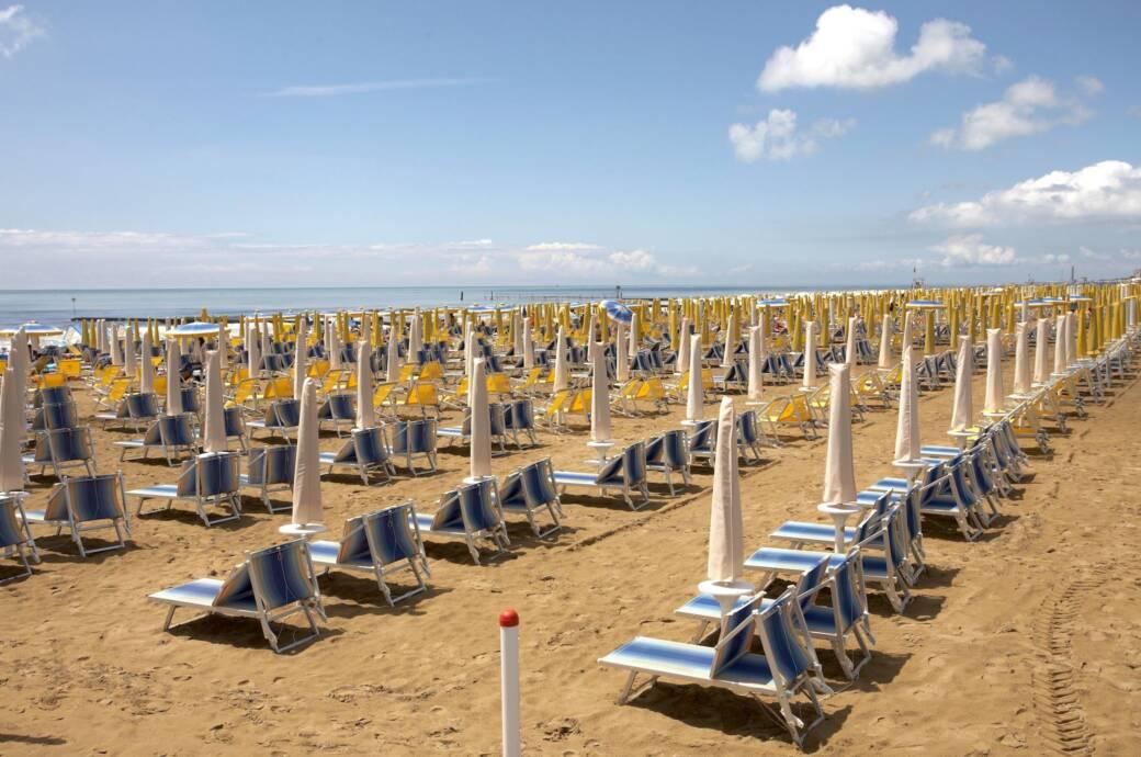 Strand Italien Corona