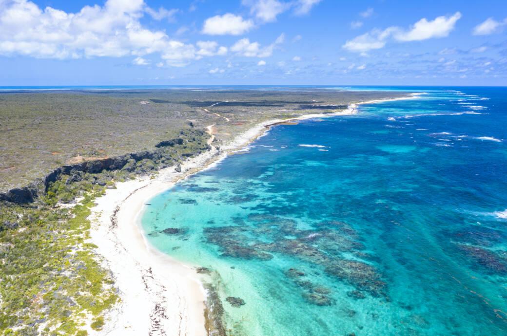 Kaum bekannte Inseln der Karibik. Im Foto: Barbuda
